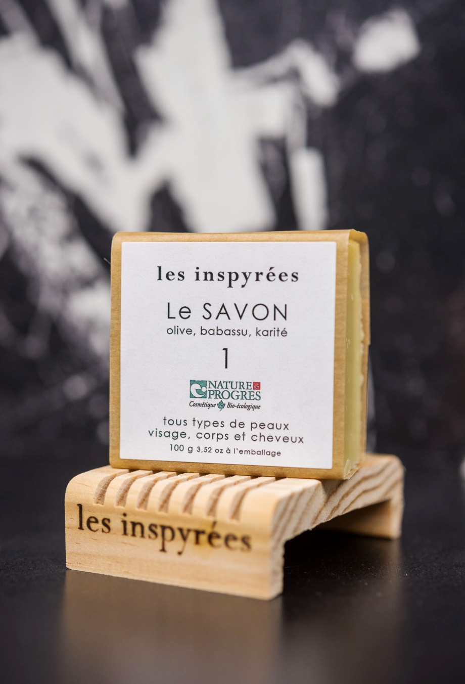 #1 Le SAVON - Savon végétal surgras de 100 gr